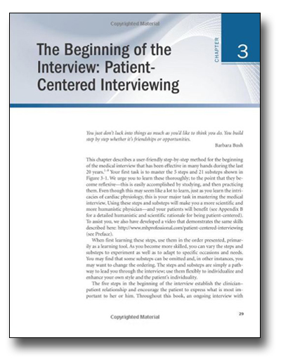 The Beginning of the Interview: Patient-Centered Interviewing